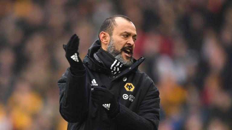 Wolves boss Nuno Espirito Santo