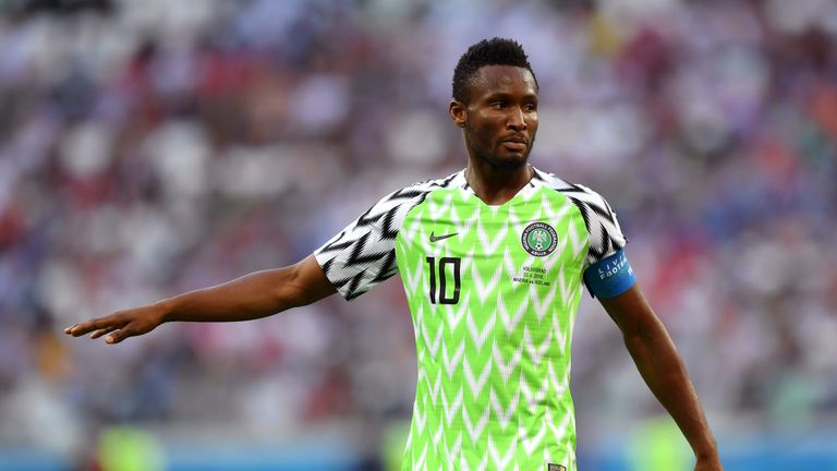 Middlesbrough signed Nigeria international Jon Obi Mikel
