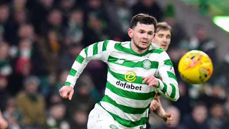 Oliver Burke made his Celtic debut in the Scottish Cup win over Airdrionians