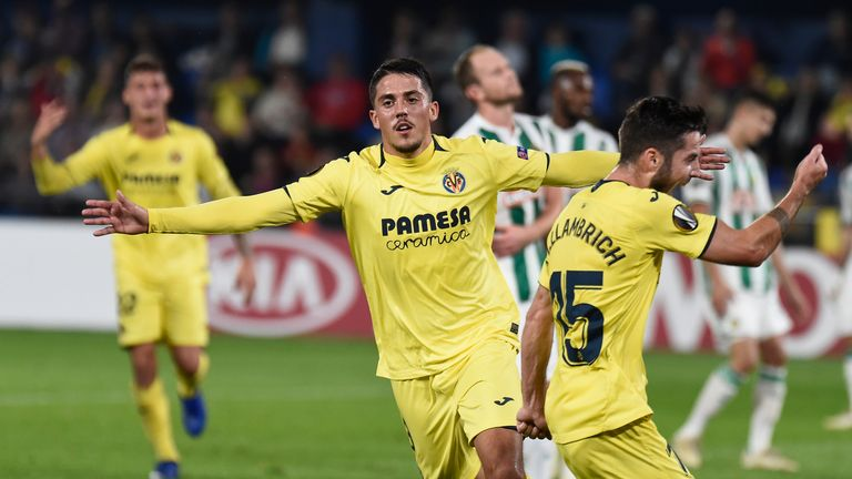 Villarreal midfielder Pablo Fornals is being monitored by Arsenal