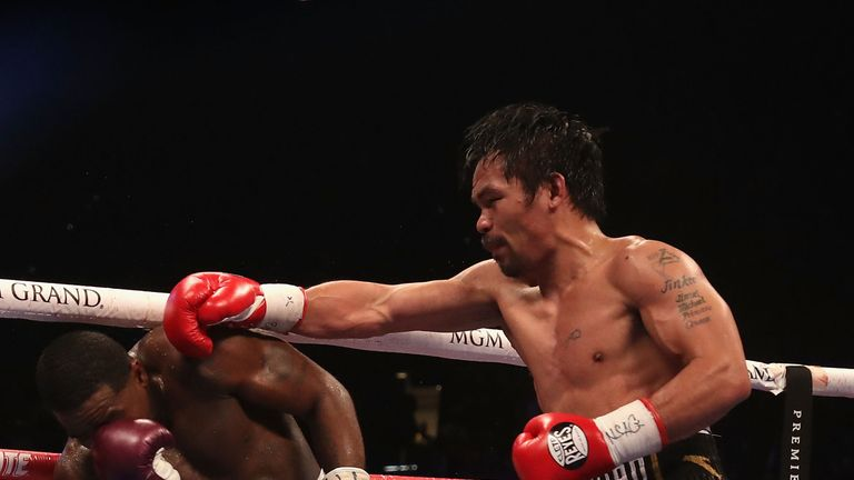 Pacquiao had Broner in trouble in the seventh and ninth rounds