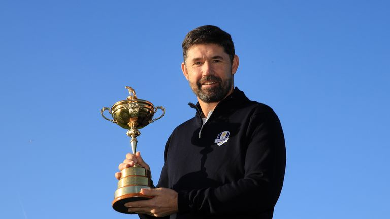 Padraig Harrington was the front-runner to succeed Thomas Bjorn as European captain