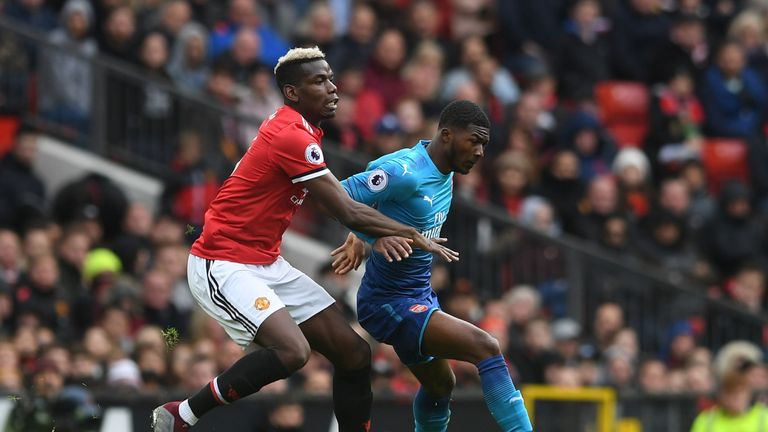 Maitland-Niles produced a man-of-the-match performance against Manchester United at Old Trafford last season