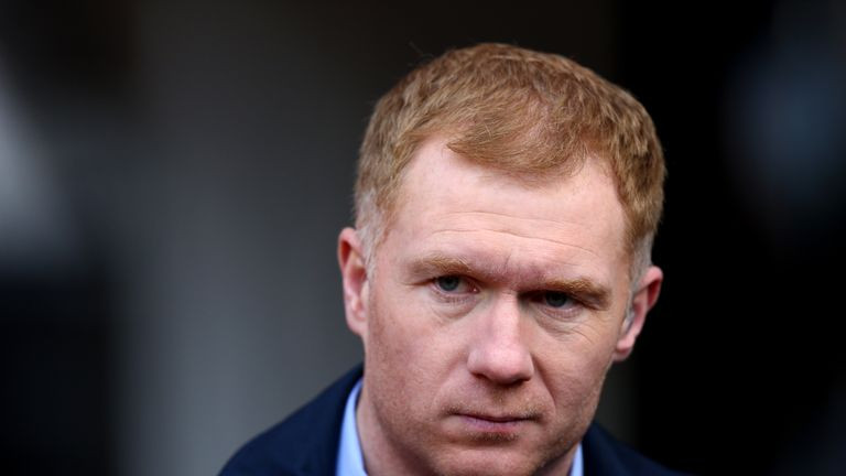Paul Scholes is expected to become Oldham manager