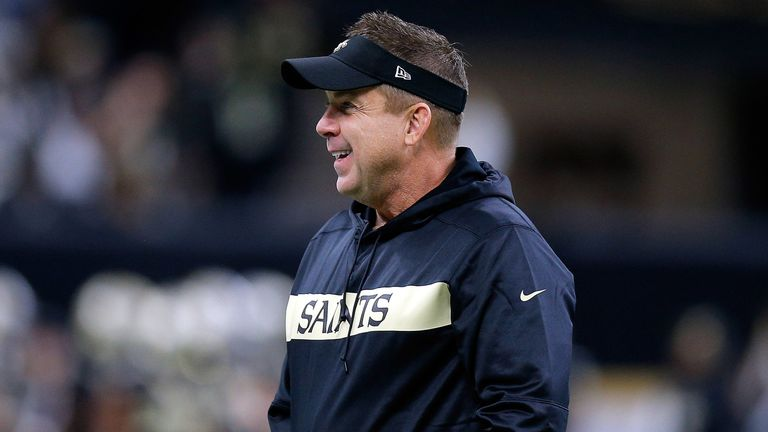 Payton is hoping to lead the Saints to their first Super Bowl since 2010