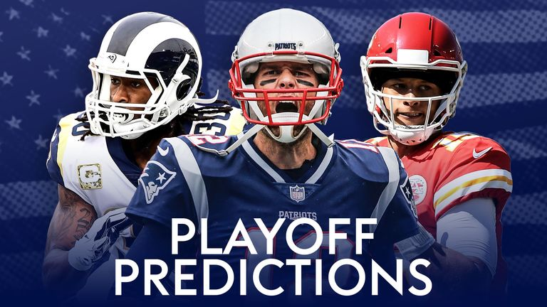 Playoff Predictions - Divisional Round