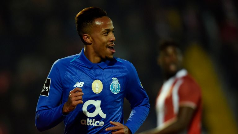 Porto defender Eder Militao has been linked with Manchester United