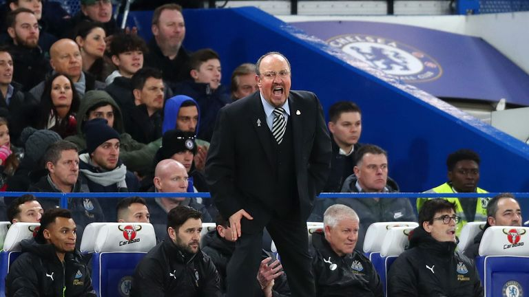Rafael Benitez is confident Newcastle can avoid relegation