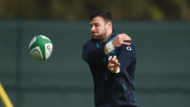 Robbie Henshaw begins at 15 for Ireland for the first time since his debut in 2013