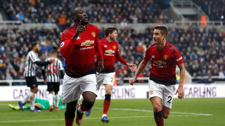 Highlights from Manchester United's win against Newcastle in the Premier League.