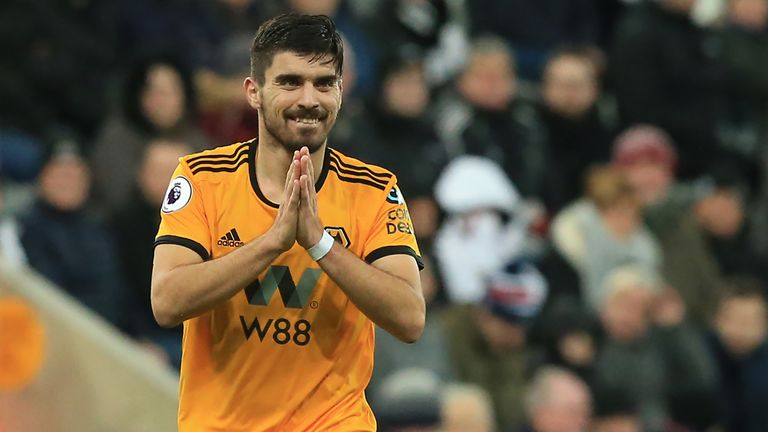 Ruben Neves has impressed in the Premier League for Wolves this season