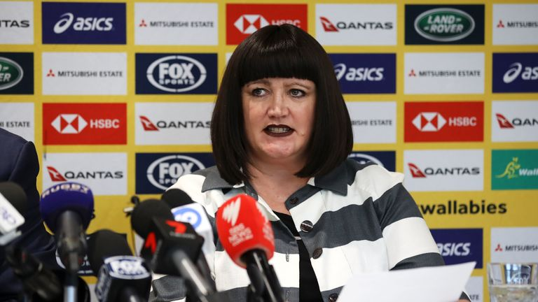Rugby Australia boss Raelene Castle requested an immediate meeting with Folau after his comments back in April 2018