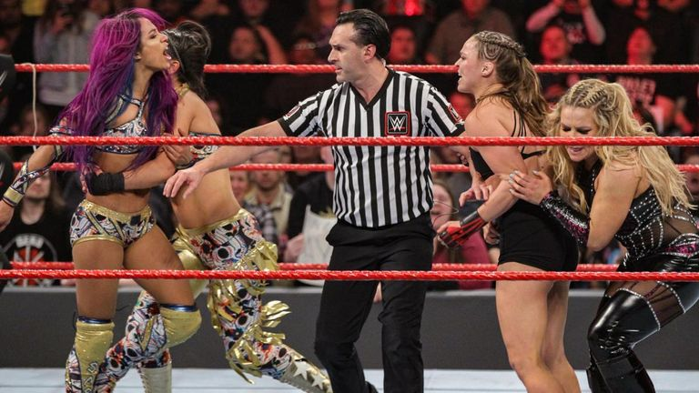 Ronda Rousey: WWE star 'quitting after WrestleMania to start family'