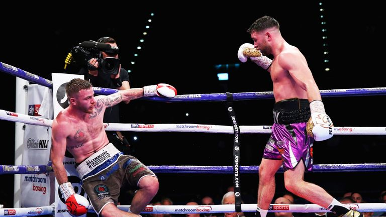 The unbeaten 27-year-old stopped Craig Morris in September