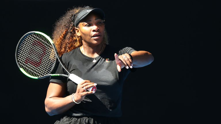 Serena Williams opens her campaign against Tatjana Maria