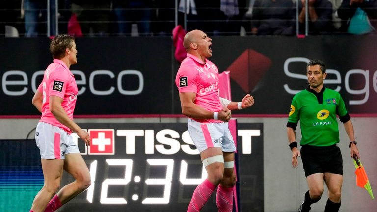 Parisse has made 238 appearances for Stade Francais since joining them in 2005