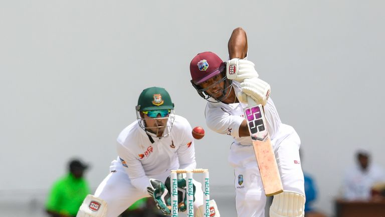 Shai Hope, Windies, Test vs Bangladesh