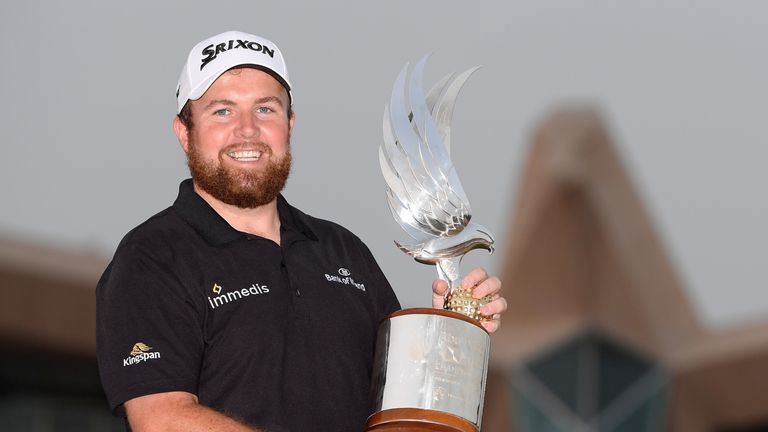 Shane Lowry began 2019 with a superb win in Abu Dhabi