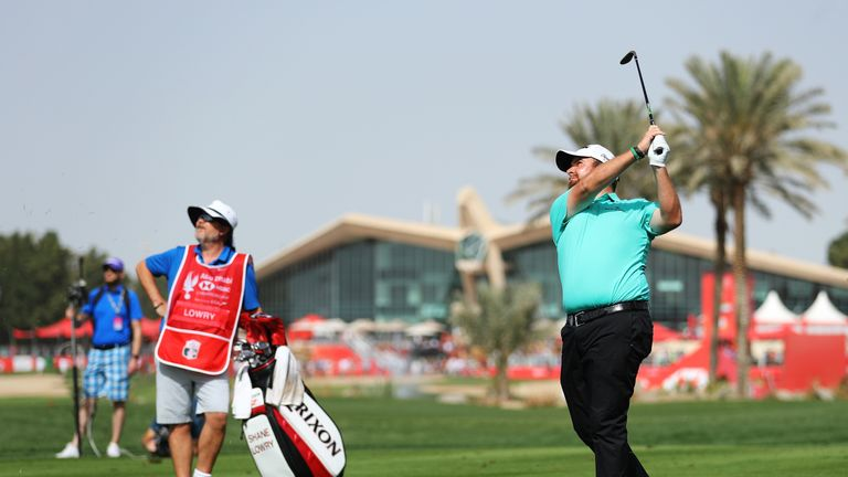 Lowry takes three-shot advantage into final round in Abu Dhabi