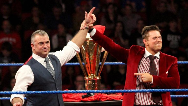 The Miz is currently involved in a tag-team storyline with Shane McMahon - but does a world title run await?