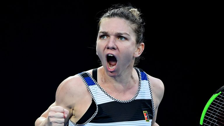 Serena Williams beats world No 1 Simona Halep at Australian Open