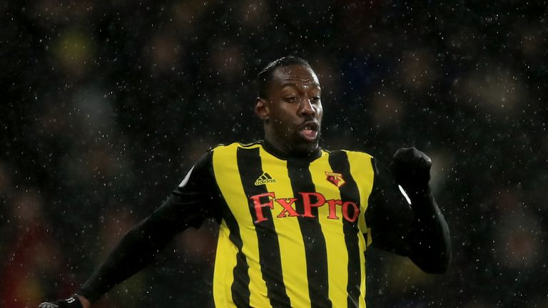 Stefano Okaka has made just three appearances in all competitions this season