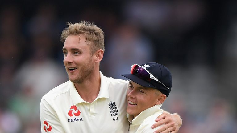 Stuart Broad and Sam Curran could be competing for one spot in the Windies