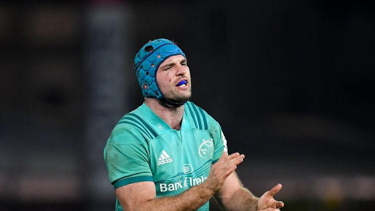 Tadhg Beirne is integral to Munster's work at the breakdown
