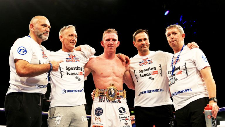 Ted Cheeseman is targeting the European title after 15 straight wins