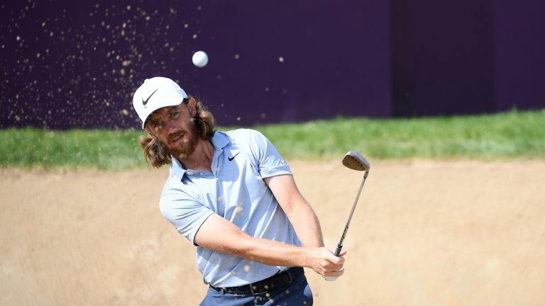 Fleetwood plays alongside Sergio Garcia and Bryson DeChambeau for the first two rounds