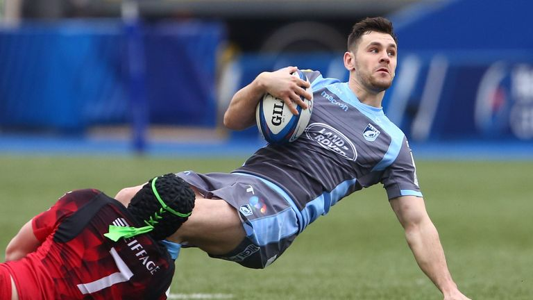 Cardiff Blues scrum-half Tomos Williams will make his Six Nations debut for Wales against France