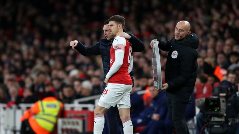Unai Emery says he wants Arsenal to achieve something important before Ramsey departs