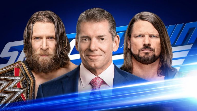 Vince McMahon will moderate a head-to-head between WWE champion Daniel Bryan and AJ Styles on tonight's SmackDown
