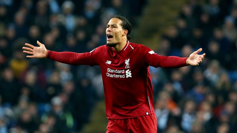 Virgil van Dijk moved to Liverpool last January for £75m