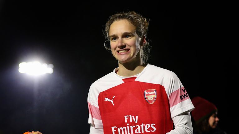 Vivianne Miedema has enjoyed a prolific season for Arsenal