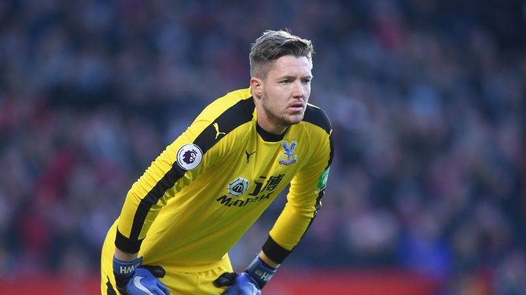 Wayne Hennessey denied the charge throughout
