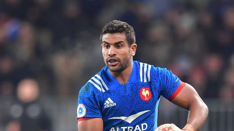 France's Wesley Fofana is among six changes for their game against Italy