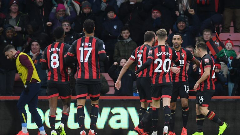 Wilson struck his sixth goal in as many games against West Ham on Saturday
