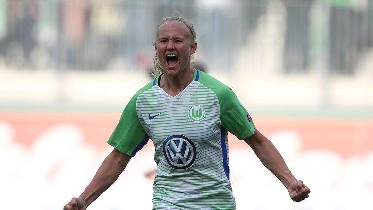Wolfsburg's Pernille Harder is one of the most talented players around