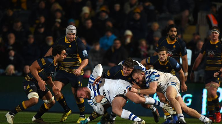 Worcester's pressure eventually paid off against Bath