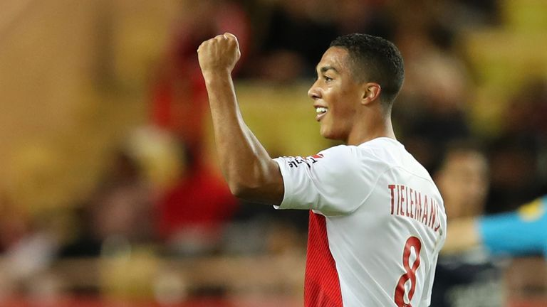 Leicester announce signing of Monaco midfielder Youri Tielemans on loan