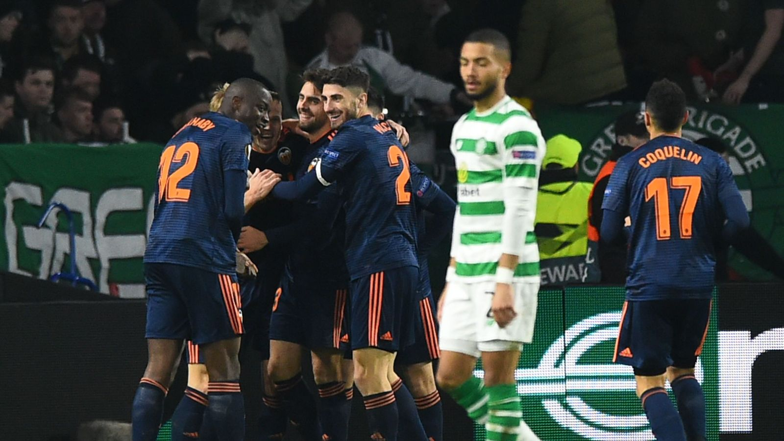 Celtic 0 - 2 Valencia - Match Report & Highlights