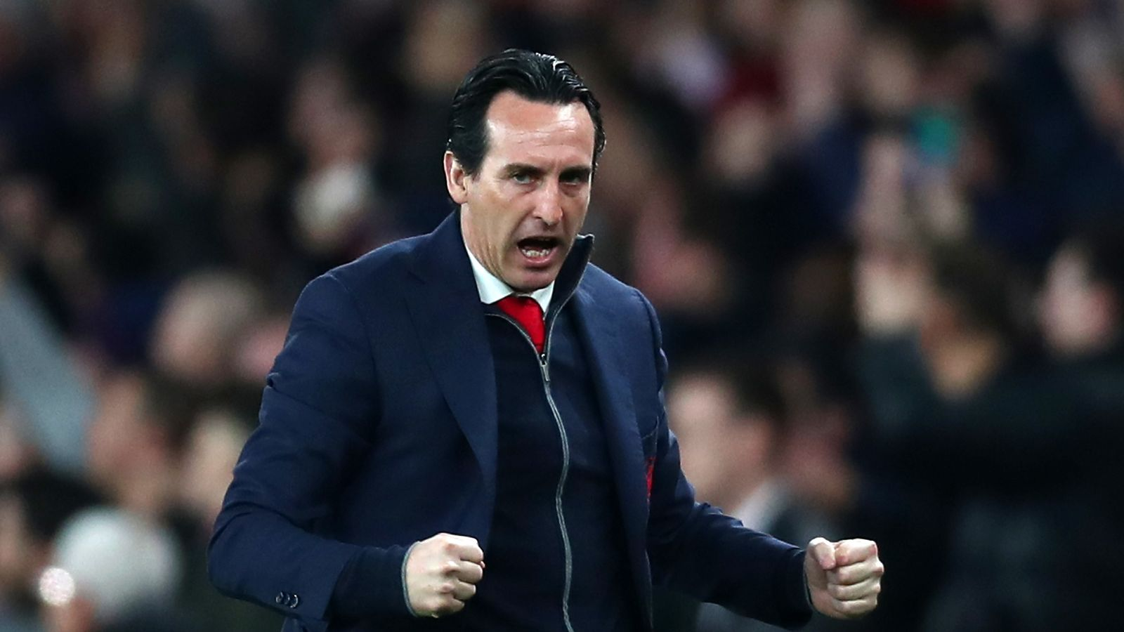 b3a5360dd Unai Emery issues rallying cry to Emirates crowd for Arsenal s Europa  League clash with Rennes