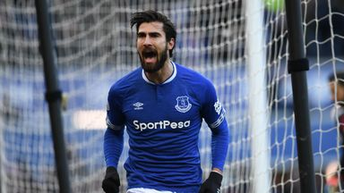 Andre Gomes is wanted by West Ham after impressing on loan at Everton