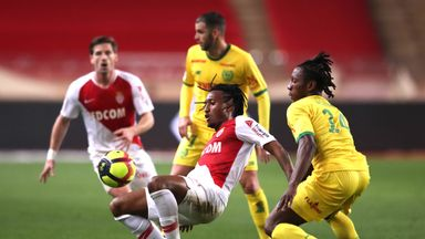 Gelson Martins was Monaco's match winner against Nantes