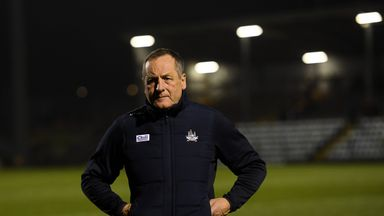 John Meyler saw his Cork charges pick up their first win of the league campaign on Saturday night
