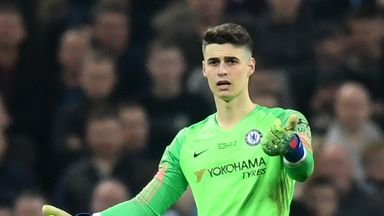 Kepa Arrizabalaga refused to be substituted in the Carabao Cup final