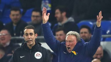 Warnock fumes over 'blatant penalty'