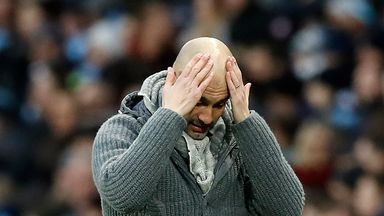 Pep Guardiola hopes Man City can avoid a selection headache in April