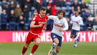 Preston were held to a goalless draw against Nottingham Forest